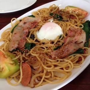 Miam Miam Spaghetti, signature dish in the restaurant. You gotta try this! <3