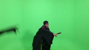 Me filming in Harry Potter scene lol