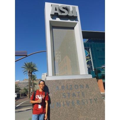 Me and the ASU logo