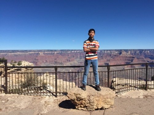 Grand Canyon babe